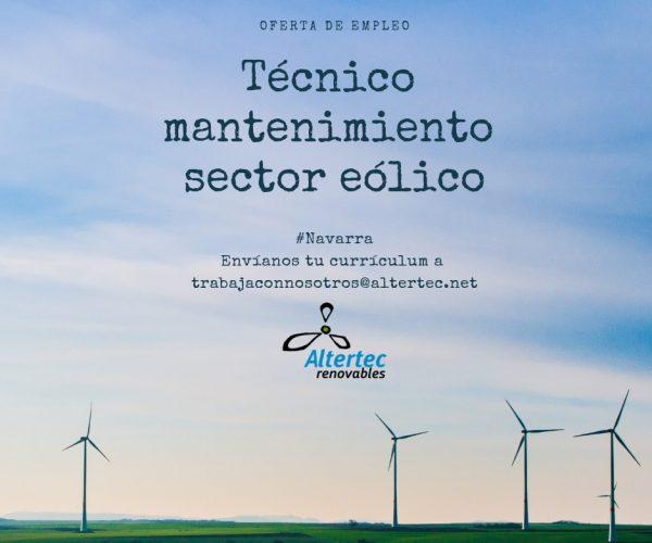 oferta_empleo_navarra_sector_eolico_mantenimiento